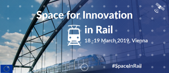 Space for innovation in rail - confrerence logo